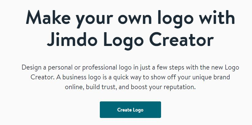 Create your Customized Logo with Jimdo