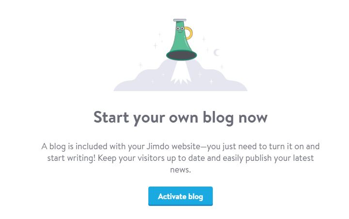 Jimdo Blogs