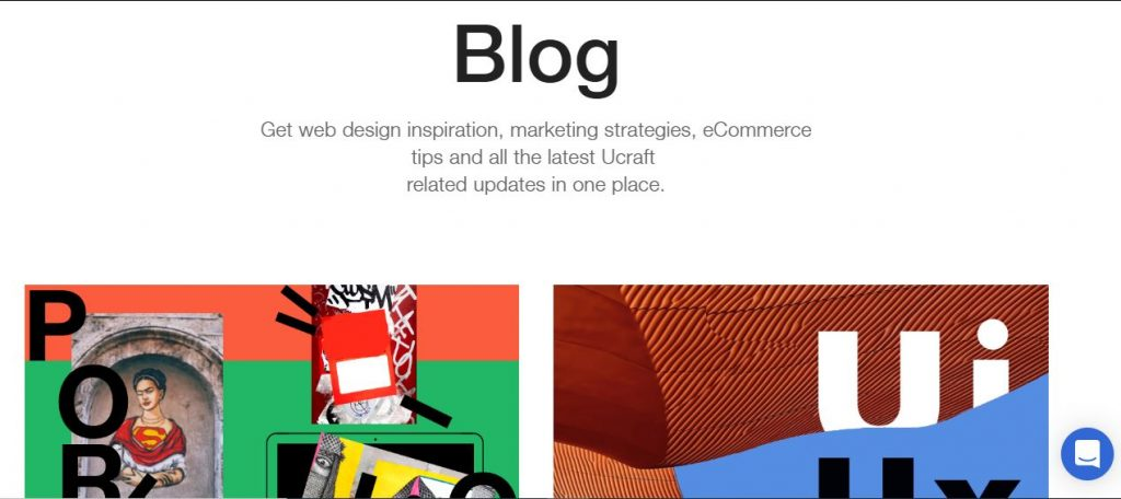 Ucrafts Blog Support Page