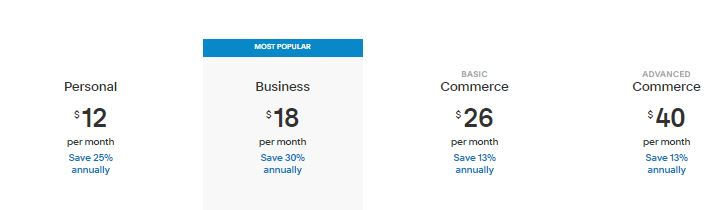 Squarespace Pricing (Plans)