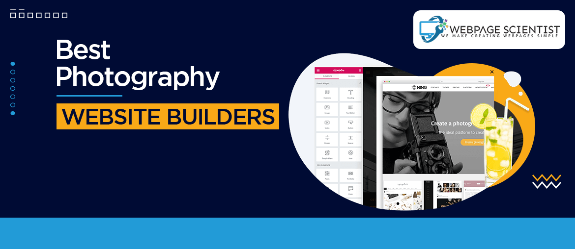 Website Builders for Photography Websites